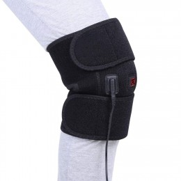 Knee Heating Pad Wrap Heated Knee Brace, Heat Therapy Hot Compress to Warm Joint Relief Pain of Knee Stiff, Arthritis, Strains, Fits Knee Calf Leg Arm