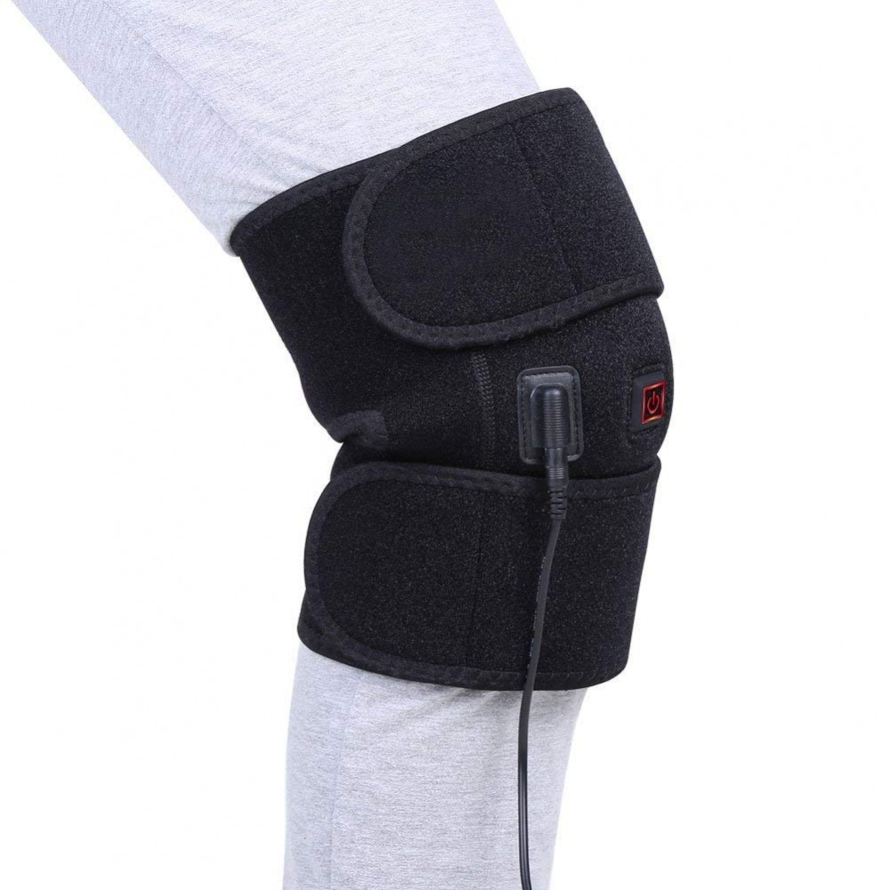 Knee Heating Pad Wrap Heated Knee Brace Heat Therapy Hot