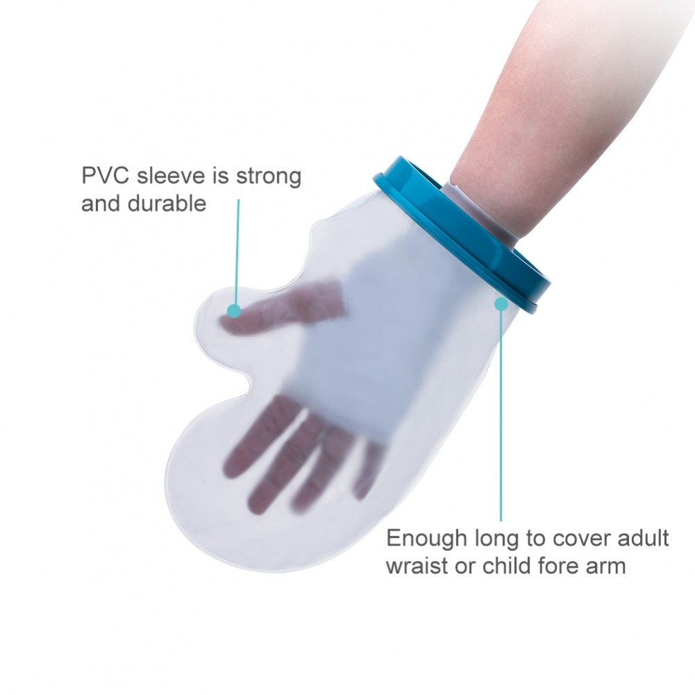 Wrist Cast Protector For Shower Bath Waterproof Reusable
