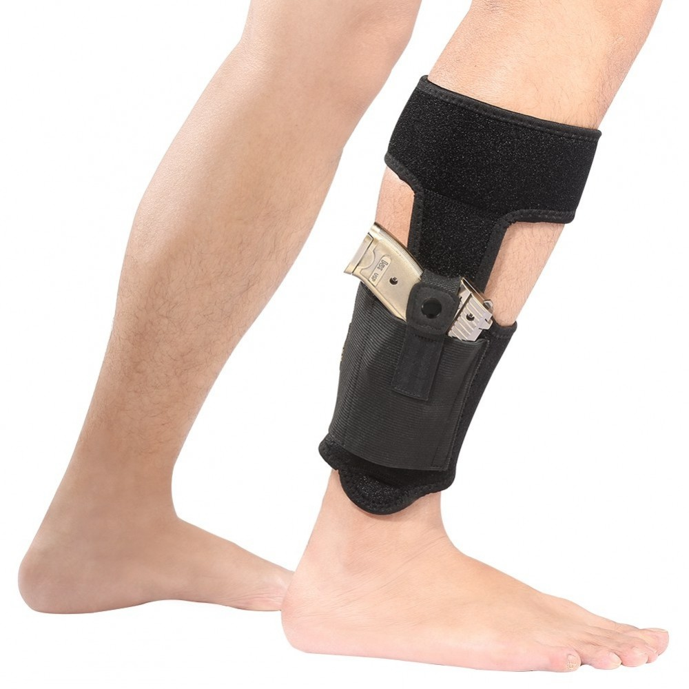 Ankle Holster with Magazine Pouch Concealed Carry Gun
