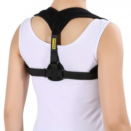 Back Posture Corrector Adjustable Clavicle Brace Comfortable Correct Shoulder Posture Support Strap for Women Men Improve Posture Correction Computer Sitting Work Prevents Slouching